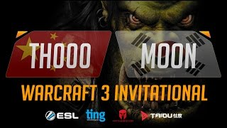 WC3 - TH000 vs. Moon - Ting Warcraft Invitational - Group B - Upper Bracket Semifinal
