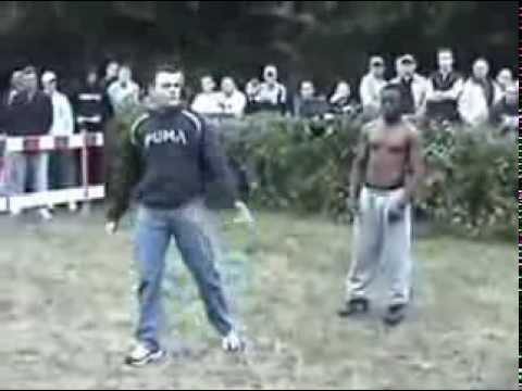 BLACK MAN VS GYPSY bareknuckle fight 2014