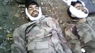 PAK army/ tararist attack on pak army van