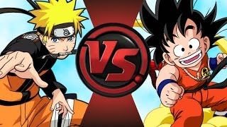 NARUTO vs KID GOKU! Cartoon Fight Club Episode 62