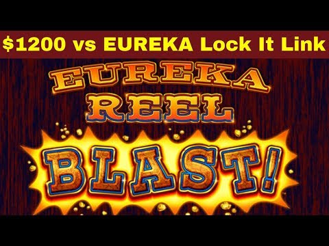 When Slots DON T PAY Anything 1200 vs EUREKA Lock It Link Slot Machine Loteria Lock It Link