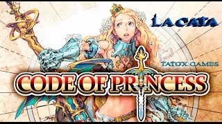 Code of Princess | Gameplay en ESPAÑOL | PC | La Cata | Un clásico arcade