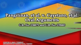 October 9, 2018 Oral Arguments on GR No. 238875 and GR No. 239483