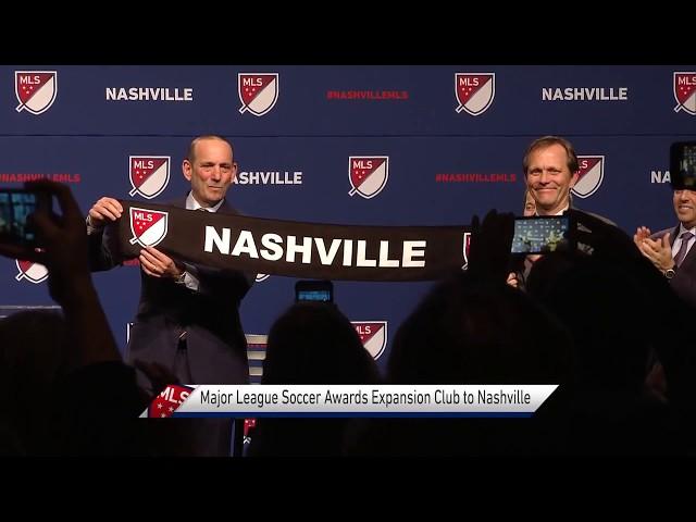 MLS Announcement in Nashville