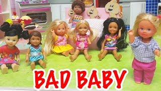 Barbie Evi Pasta Partisi Kötü Bebek de Orada 😳   Evcilik Oyunu   Oyuncak Butiğim