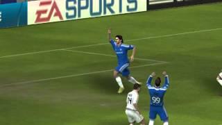 Chelsea vs Real Madrid C.F. căng thẳng những phút cuối