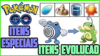 Como Conseguir Itens Especiais em Pokemon GO! metal coat e outros