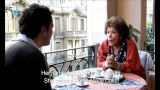 Heliopolis (2009) scene - 1 - Ibrahim (Khaled) and Vera (Aida Abdel Aziz)