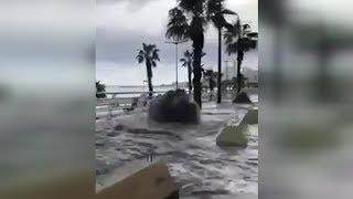 بعد جدل النفايات والمزابل في #لبنان بيروت تغرق في مياه #المجاري   #بي_بي_سي_ترندينغ