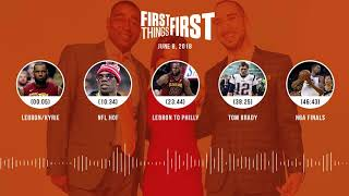 First Things First audio podcast(6.8.18) Cris Carter, Nick Wright, Jenna Wolfe | FIRST THINGS FIRST