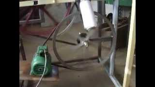BANDSAW MADE WITH BICYCLE WHEELS