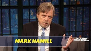 Mark Hamill Does a Perfect Impression of Harrison Ford