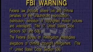FBI Warning Interpol (1996-2003)