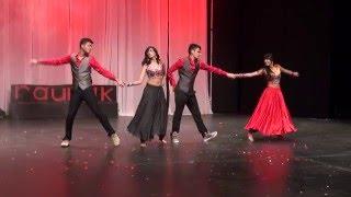 Bollywood dance- Dilliwali girlfriend, Hangover, Deewani Mastani & Gerua