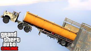 GTA 5: Online - Stunts, Fails & Funny Moments