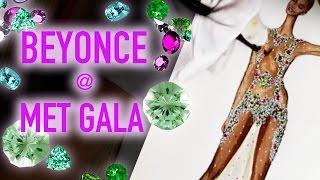 BEYONCE. GIVENCHY Dress | Fashion Drawing