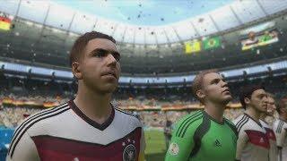 FIFA World Cup 2014: Germany vs Ghana Simulation (EA FIFA World Cup 2014 Brazil)