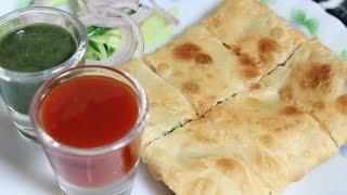 How to prepare Mughlai Paratha | Kolkata street snack
