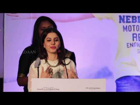 Actress Isha Talwar Speech | Meendum Oru Kadhal Kathai Press Meet | GV51