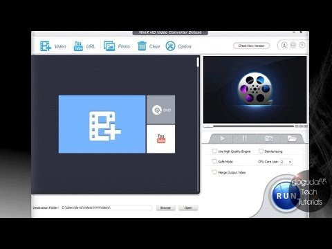 Download WinX HD Video Converter Deluxe Review HD Mp4 3GP Video and MP3