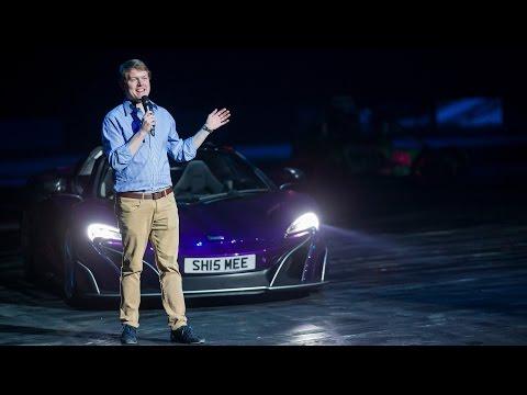 watch Driving My McLaren 675LT in a Live Show!