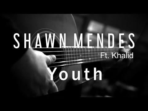 Shawn Mendes ft Khalid - Youth ( Acoustic Karaoke )