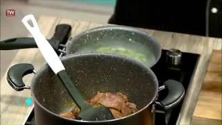 لذت آشپزی آسان باقالی پلو با گوشت