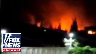 Israeli Defense Forces accuse Iran of rocket attack