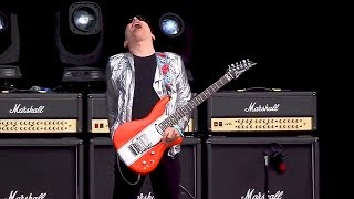 Joe Satriani  Ice9 At Hellfest 2016 With Guitar Battle