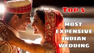 Top 5 - Most Expensive Indian Wedding | SIMBLY CHUMMA