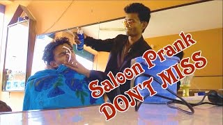 Saloon prank 2017 ৷৷ Bangla funny video ৷৷ Osthir tv
