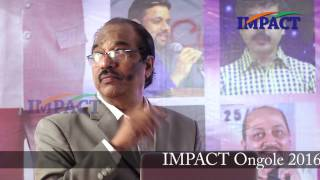 Atitude to Alltitude by Dr BV Pattabhiram  at IMPACT Ongole  2016