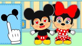 👶 BEBÉS DE MICKEY MOUSE 👶 Gameplay con Mickey y Minnie de Disney  Gameplay y juegos de bebé
