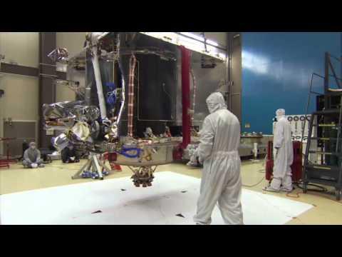 MAVEN Magnetic Swing Test