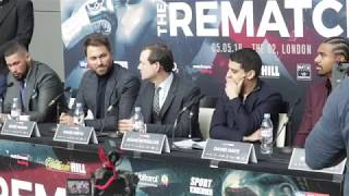 TONY BELLEW v DAVID HAYE (FULL & COMPLETE) OFFICIAL PRESS CONFERENCE W/ EDDIE HEARN & ADAM SMITH