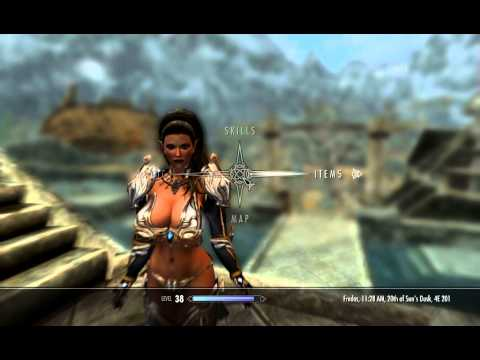 Skyrim Mods Tera Armor Collection Axestaff Weapons CHSBHC Body