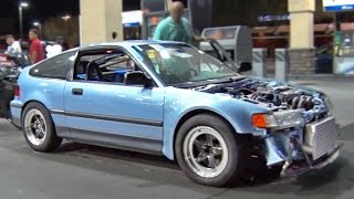 Turbo Honda CRX vs ALL - Arizona STREETS