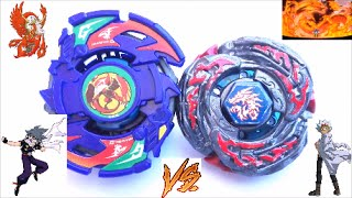 Dranzer G vs L-Drago Destroy F:S - Kai vs Ryuga - Mission impossible-Plastic vs 4D Beyblade
