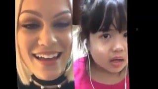 #Smule Jessie J karaoke Flashlight Smule & AMAZING CUTE LITTLE GIRL SINGING!!