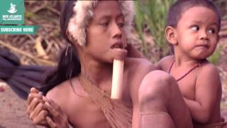 Documentary video  People of Amazon Jungle