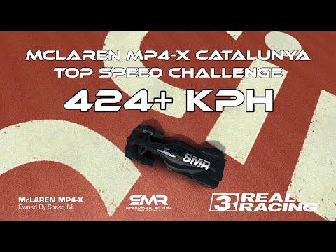 Xxx Mp4 Real Racing 3 McLaren MP4 X Catalunya Top Speed Challenge 424 Kph RR3 3gp Sex
