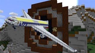 MINECRAFT FLUGZEUG OHNE MOD SELBST BAUEN! ◘ Minecraft 1.11.2 Tutorial