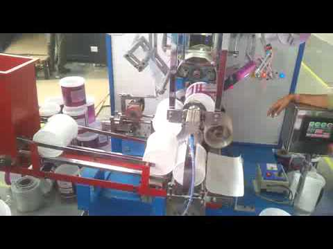 HTM 40 R FULLY AUTOMATIC FOR ROUND CONTAINER HOT FOILING MACHINE/www.rkengworks.in