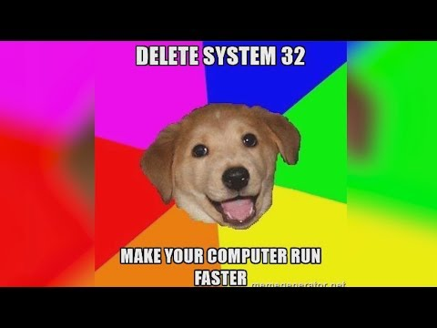 What Happens If You Delete System32?