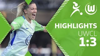 Chelsea Ladies FC - VfL Wolfsburg | Highlights | UEFA Women´s Champions League