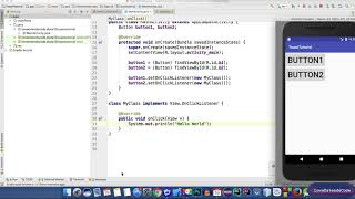Android Development 9 : Single Listener Method for multiple Buttons (Bangla | বাংলা)