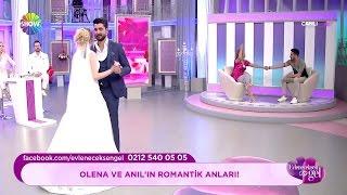 Anıl ve Olena arasında romantik anlar!