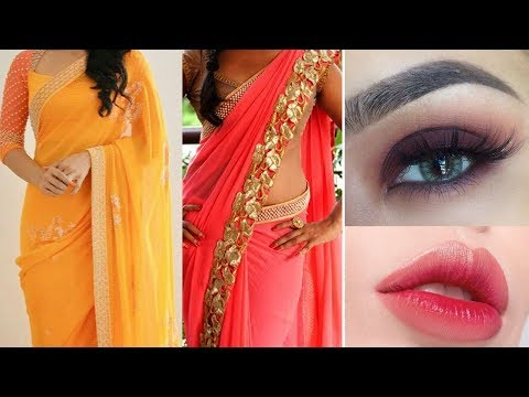 Xxx Mp4 Party Style Saree Draping Makeup How To Apply Makeup Perfectly Step By Step Tutorial Beginners 3gp Sex
