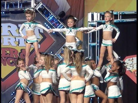 Cheer Extreme BATB Raleigh Mini 1 Sparkle Stars 2014