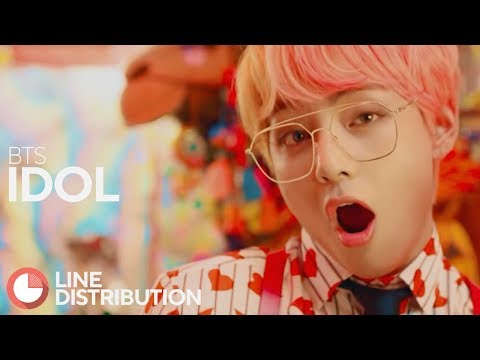 BTS - IDOL (Line Distribution)